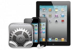 Настройка и прошивка Ipad, Ipad mini, Iphone